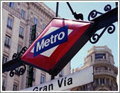 Hotels Madrid, Metro